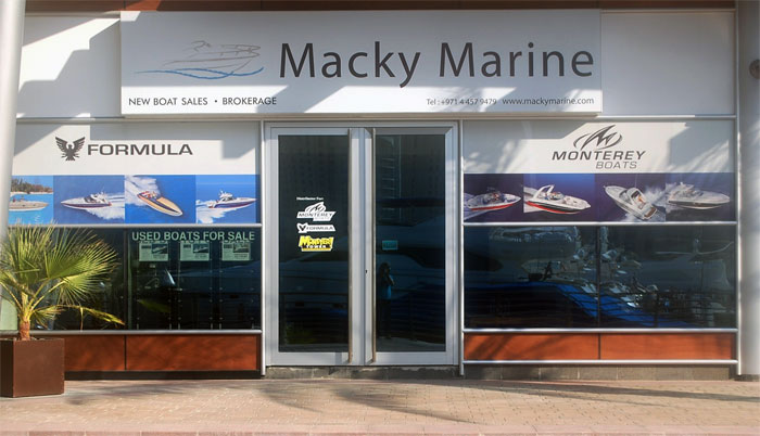 macky marine office outside