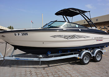 Monterey 238 SS - AED 175,000